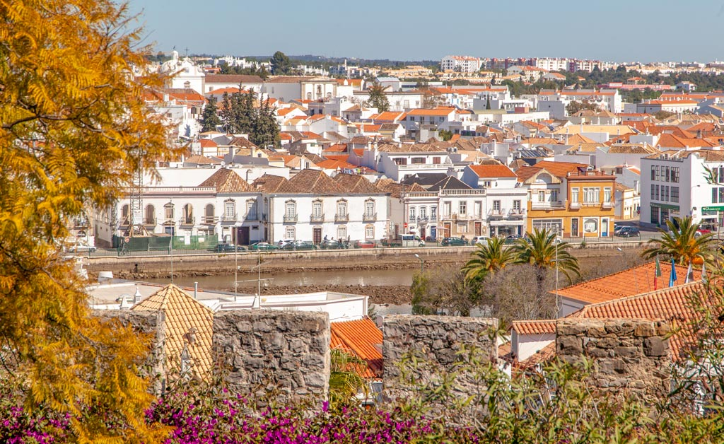The beautiful town of Tavira